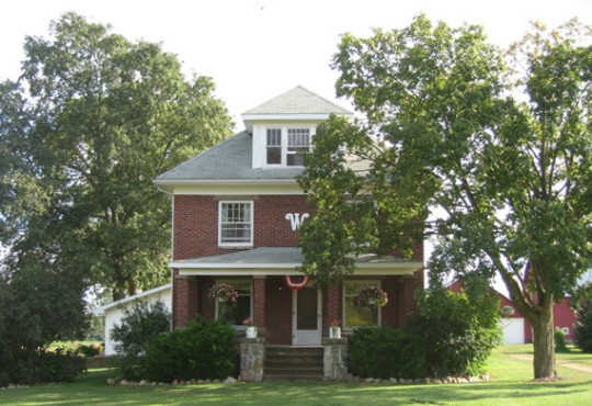 Allen's childhood home