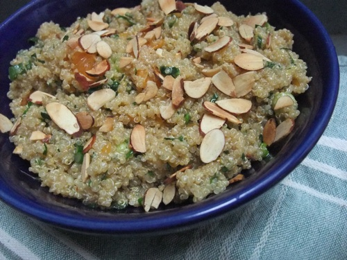 ... with Amy: A Food Blog: Citrus Quinoa Salad with Toasted Almonds Recipe