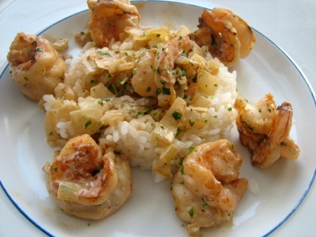 Fennel Shrimp
