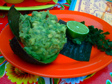 Guacamole at Mexico