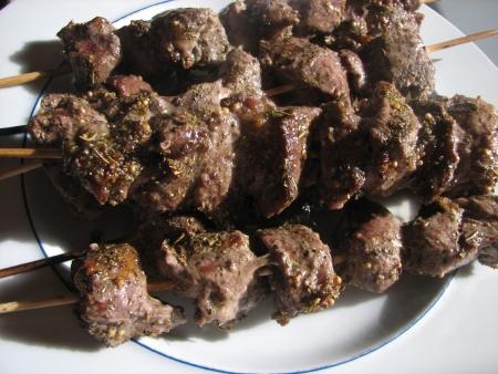 American Lamb Kebabs