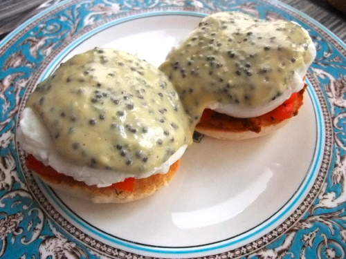 Caviar Gravlax Benedict