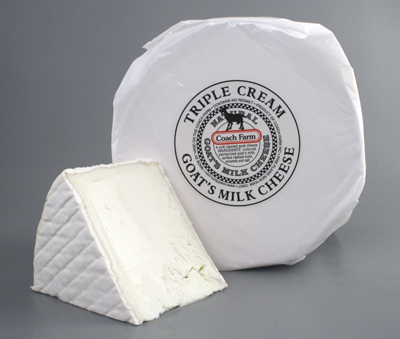 Coach Triple Cream Goat Cheese