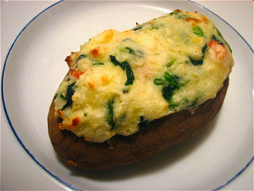 Double Stuffed Baked Potato