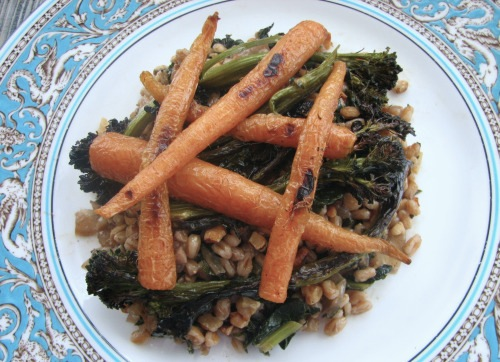 Farro & Winter Vegetables