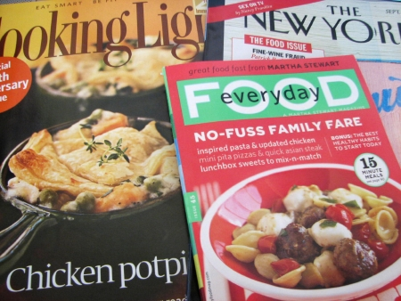 September Food Magazines
