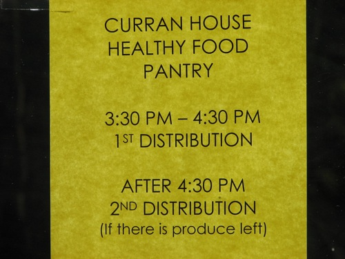 Food Bank pantry
