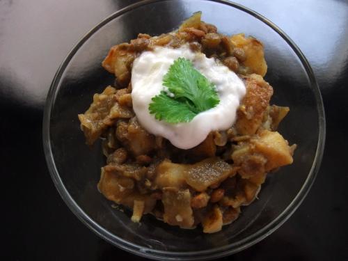 Lentil & Potato Curry
