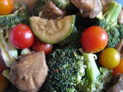 Marinated Mustard Vegetables