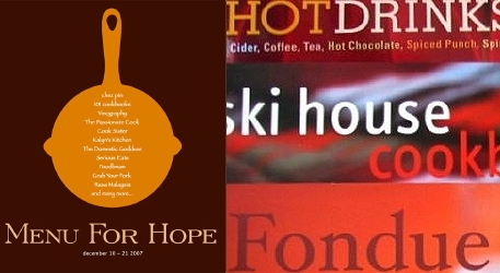 Menu for Hope