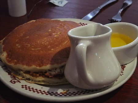 Pancakes at Du-pars