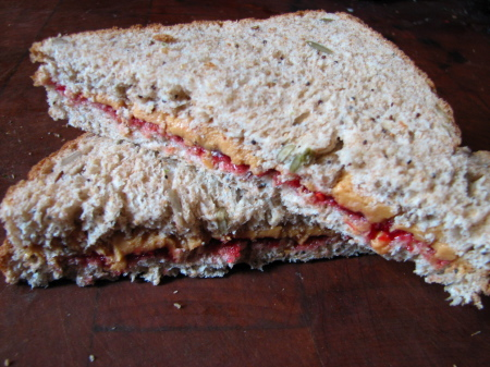 Peanut Butter &amp; Jelly Sandwiches
