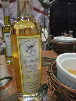 Sparrow Lane pear vinegar