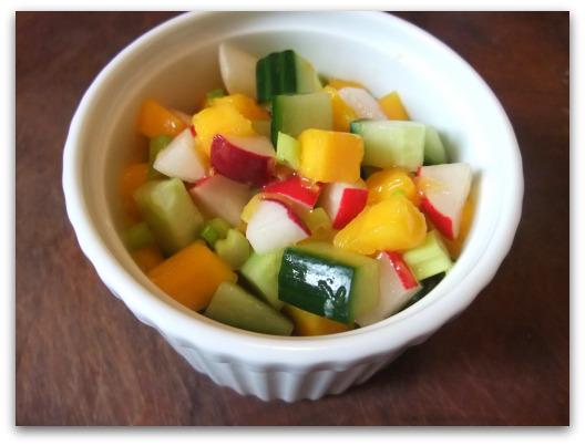 Savory Mango Salad