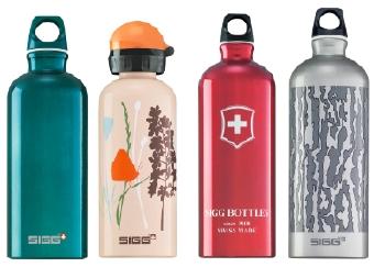 Sigg water bottles