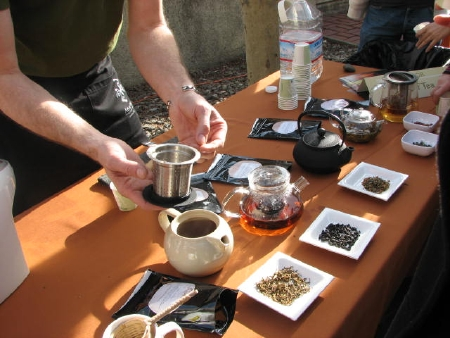 tea tasting